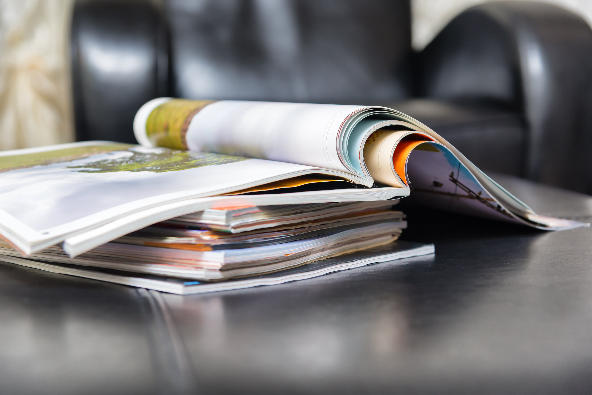 large print magazines for visually impaired