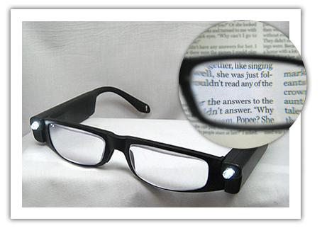 magnifying reading glasses