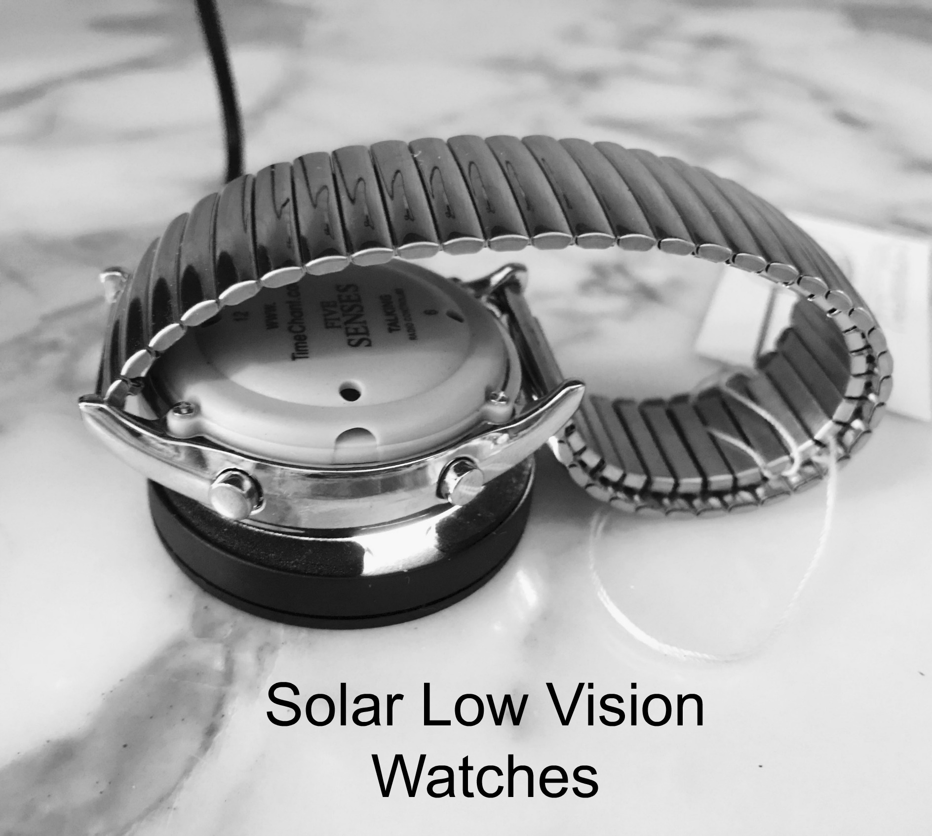 solar powered low vision watches