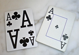 large print playing cards