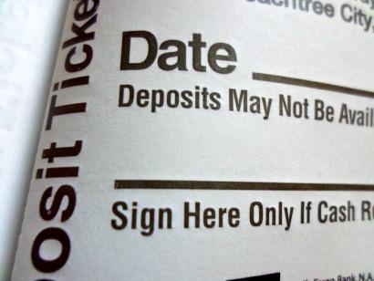 large print checks