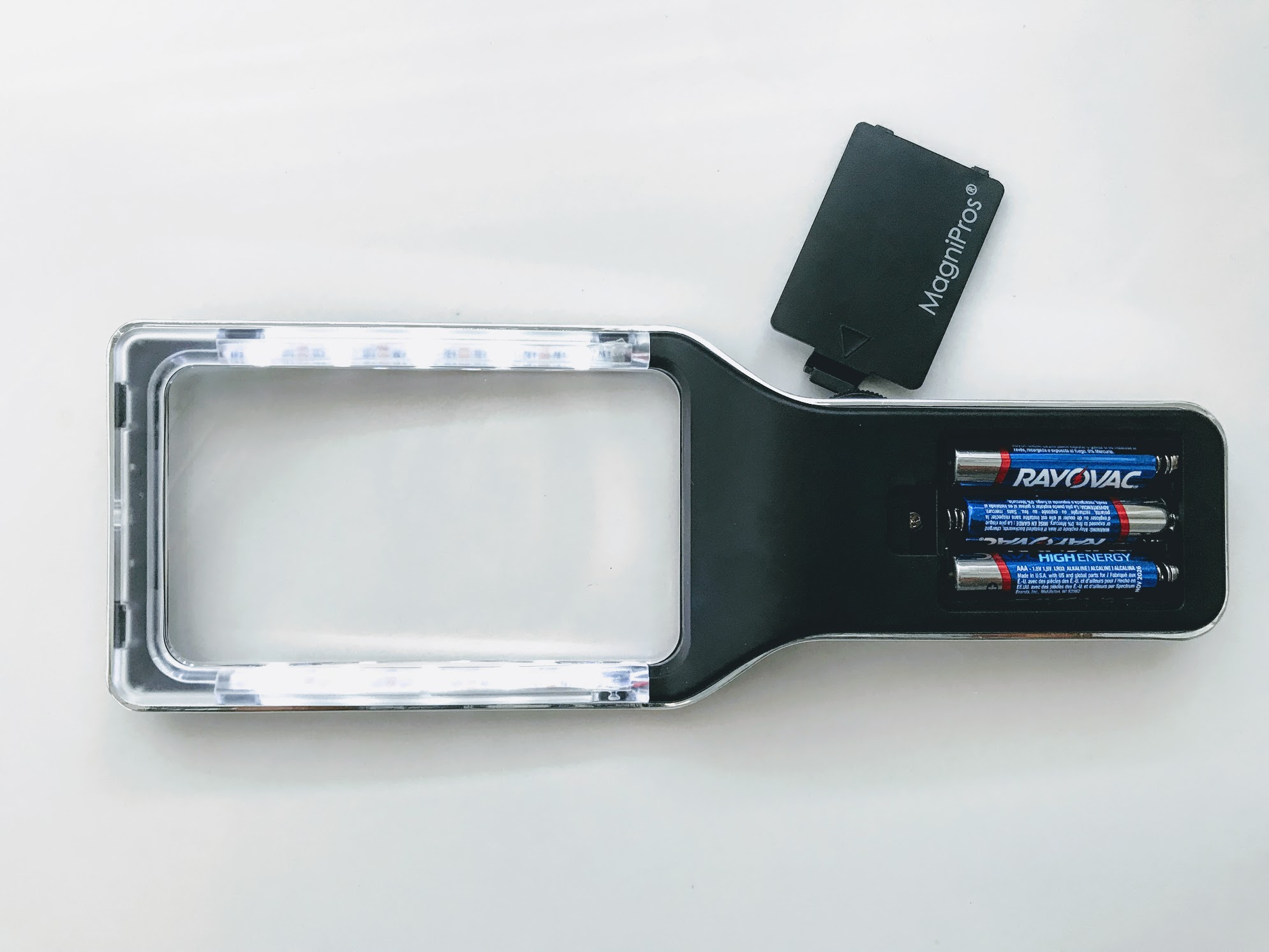 Lighted Magnifier With Better Light The Less Need For