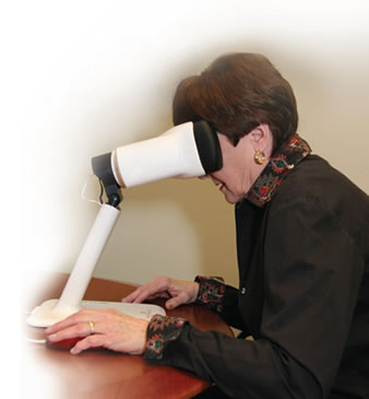 Macular Degeneration Test for Home Vision Monitoring