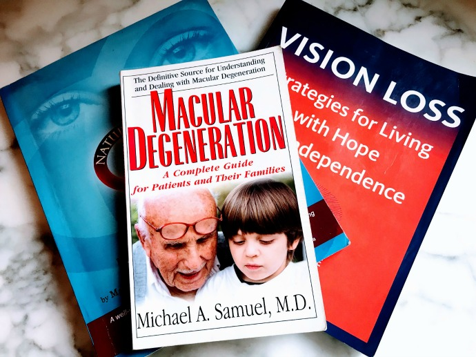 macular degeneration resource books