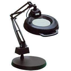 magnifying desk lamps by lighting fixtures for. Black Bedroom Furniture Sets. Home Design Ideas