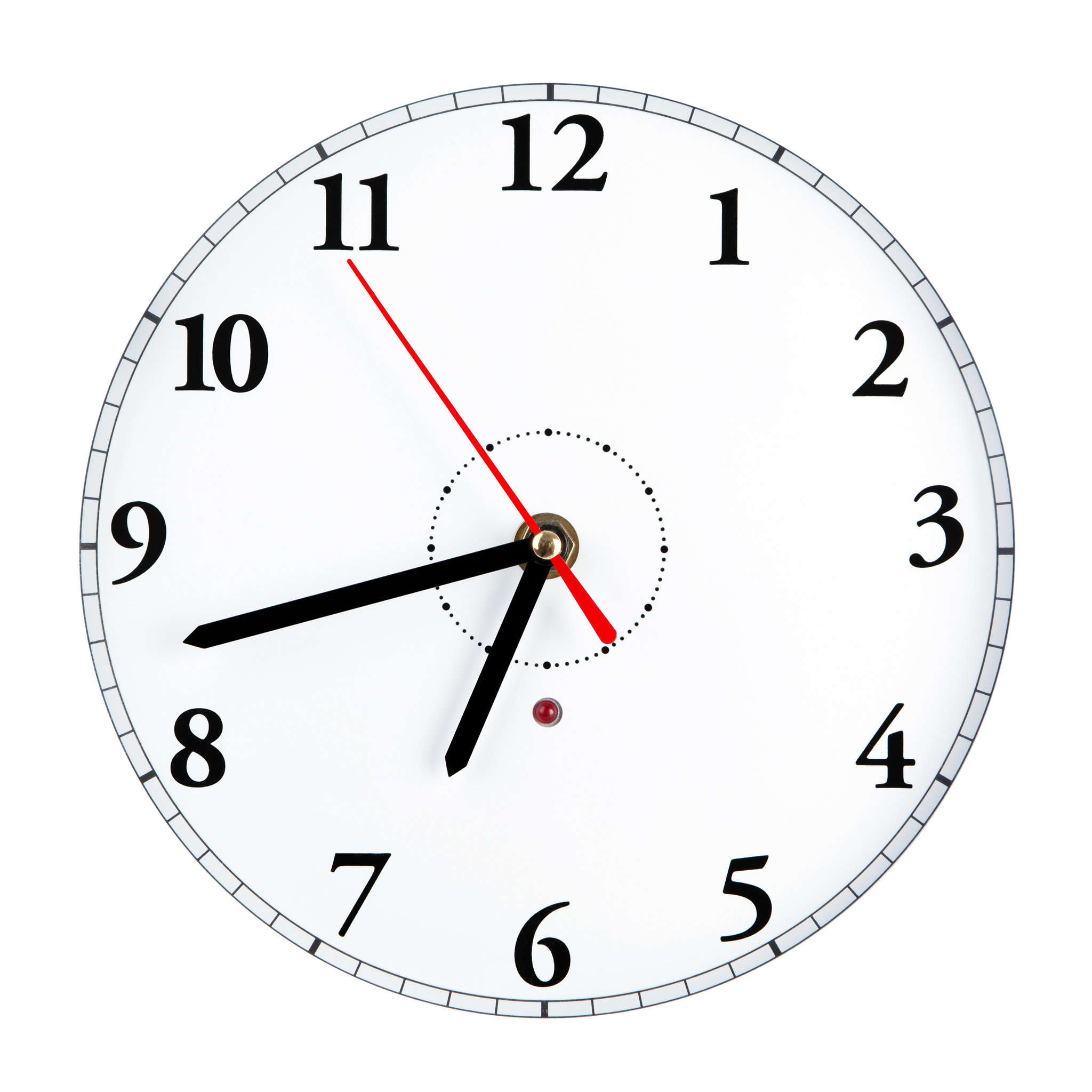 large number low vision clocks for visually impaired