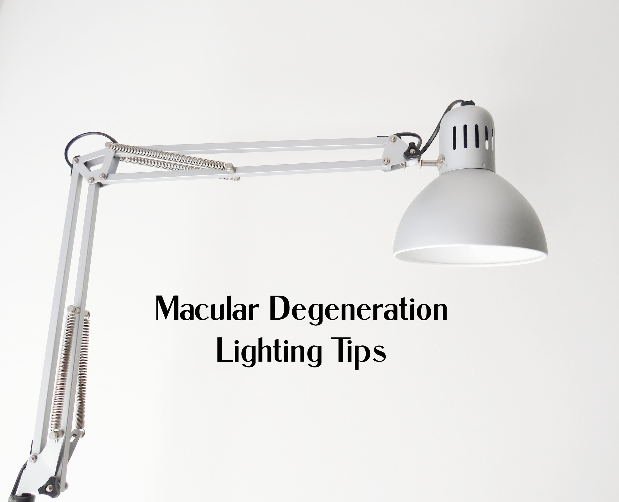 macular degeneration lighting tips