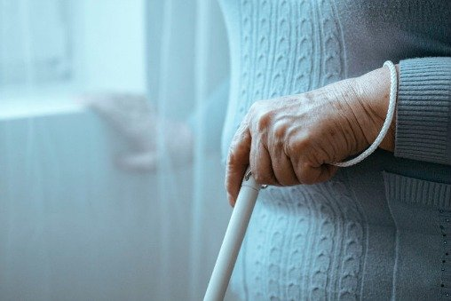 white cane for the blind and visually impaired