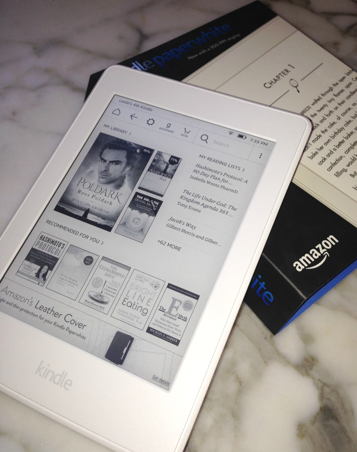 kindle paperweight for macular degeneration