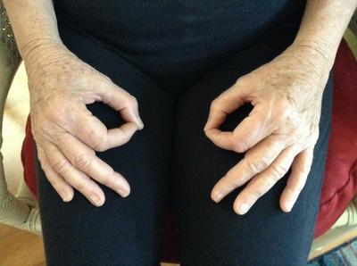 Gyan Mudra Calming Hand Position