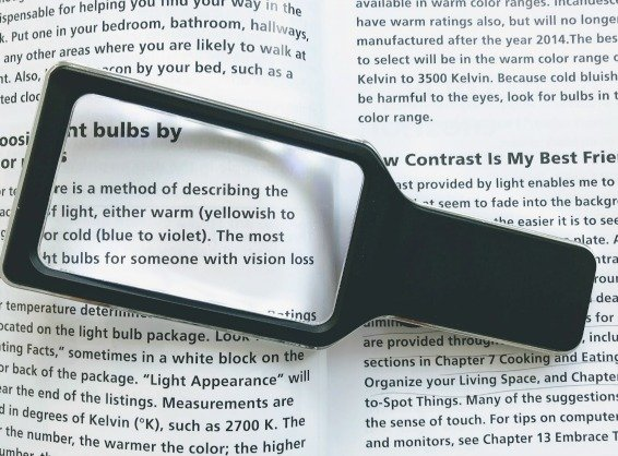 lighted hand held magnifying glass