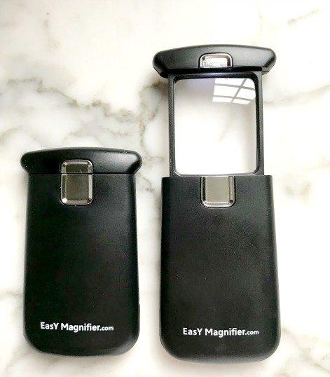 lighted pocket magnifying glass